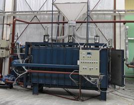 Блок-форма закрытого типа с автоматической системой управления 1000*600*3000 мм